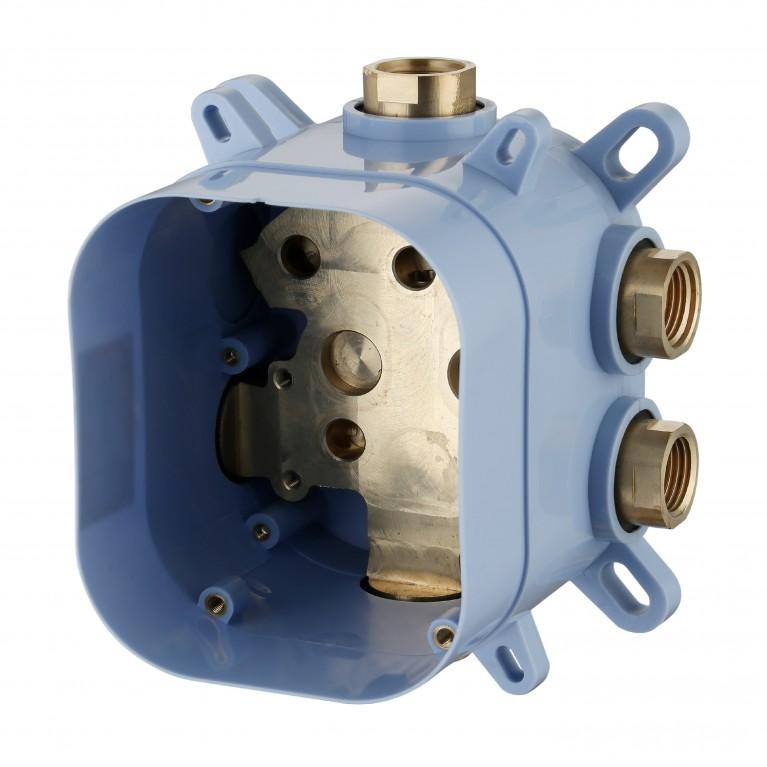 CENTRUM смеситель для ванны, термостат, скрытый монтаж (1 потребитель), форма R VRB-15400Z, фото 2