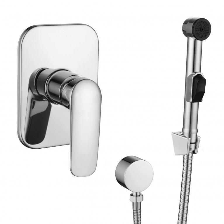 PRAHA new  набор (смеситель скрытого монтажа с гигиеническим душем), фото 1