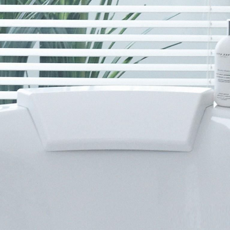 DARLING NEW подголовник для ванны, с изгибом, цвет белый 790008000000000, фото 2