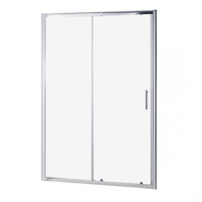 Дверь ROZZY JENORI 120*185см в нишу раздвижная, стекло прозрачное 6 мм