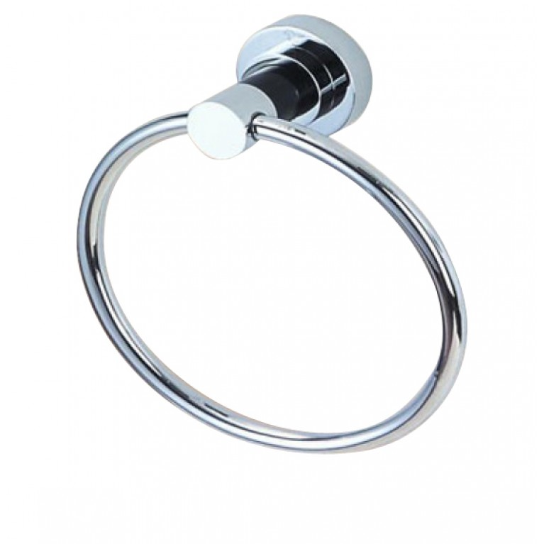 Купить Кольцо под полотенца 19*8,5*21см, латунь хром у официального дилера BLASK в Украине
