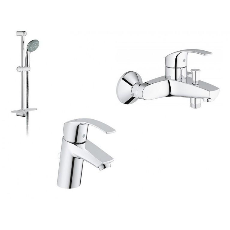 Eurosmart Набор смесителей для ванны (33265002+33300002+27926000), фото 1
