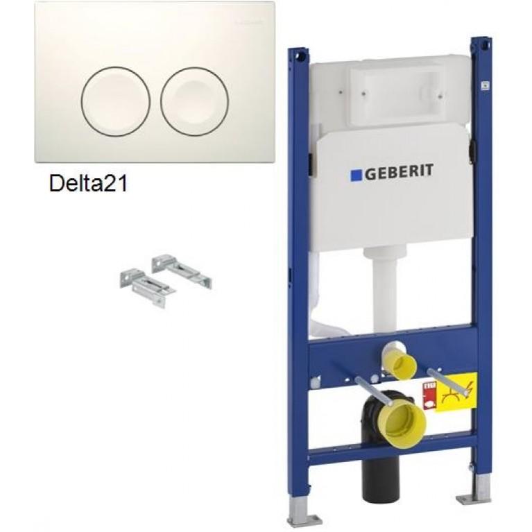 Duofix Инсталляция для подвесного унитаза, H112, со встроенным бачком/ аналог арт 458.115.11.1