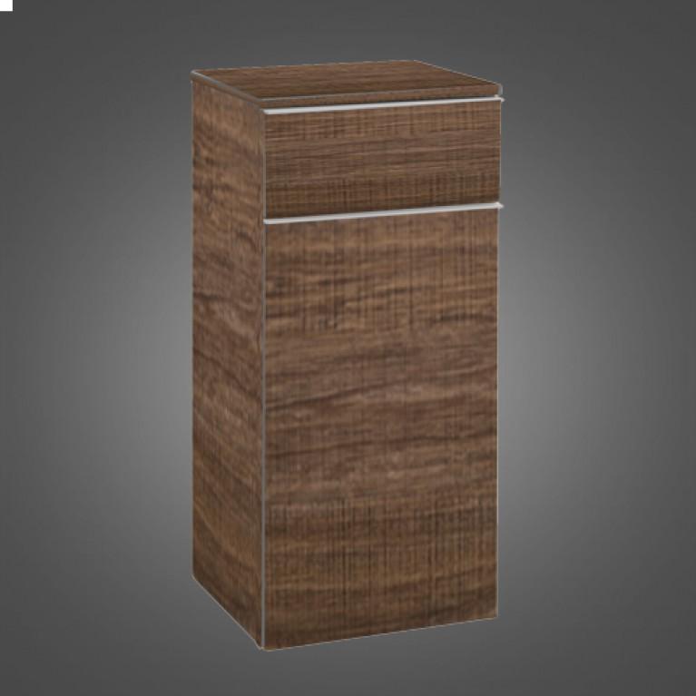 VENTICELLO пенал 40,4*86,6*37,2см (ручка вариант2 белая) цвет Santana oak, фото 1