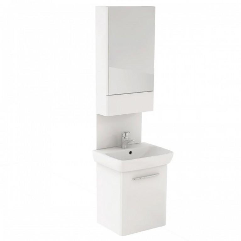 NOVA PRO комплект 55 см: комплект с умывальником М39004, шкафчик с зеркалом 88429, панель для умывальника 88448