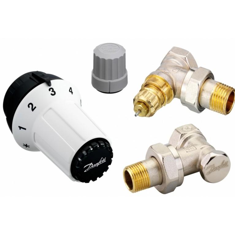 Danfoss Комплект термостатический RAS-С + RA-FN + RLV-S 1/2