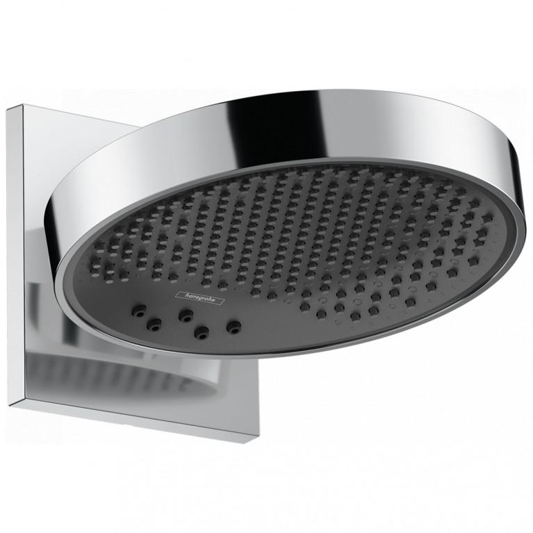 Купить Rainfinity Верхний душ 250 3jet с настенным держателем, хром у официального дилера HANSGROHE в Украине