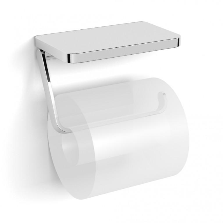 TEO держатель бумаги-полочка, крепление к стене, хром