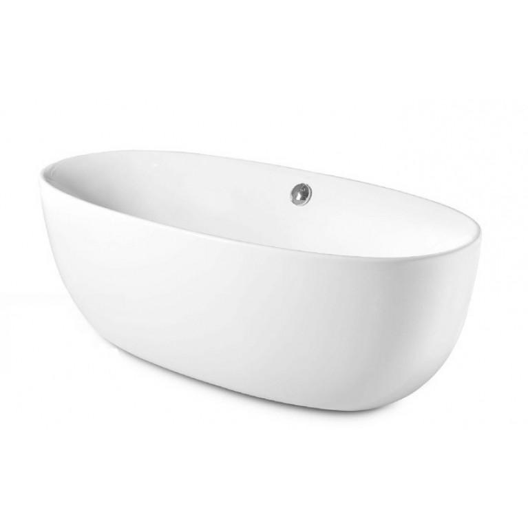 VIRGINIA ванна 1700*800мм, отдельностящая, с сифоном, панелью, с ножками, с креплениями