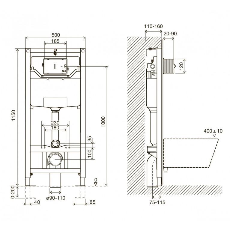 IMPRESE Комплект инсталляции 3в1 i8120
