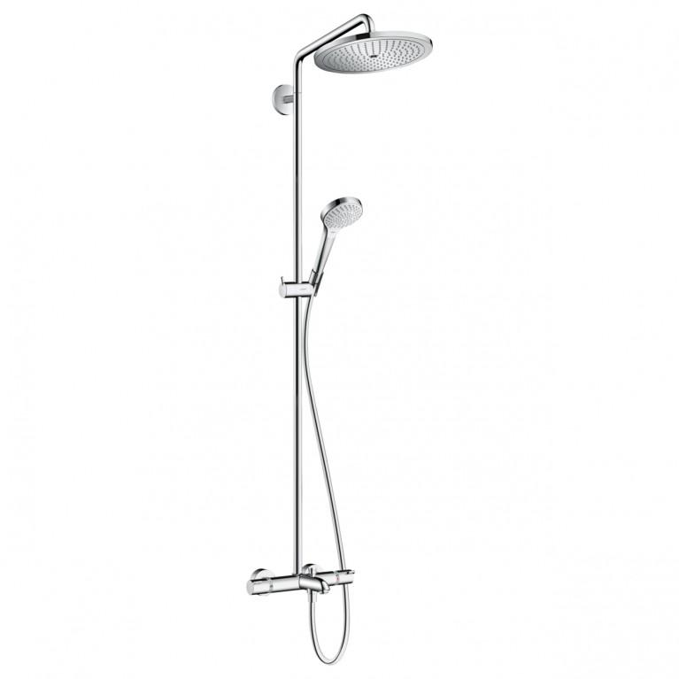 Croma Select 280 Air 1jet Showerpipe Душевая система для ванны с термостатом, хром, фото 1