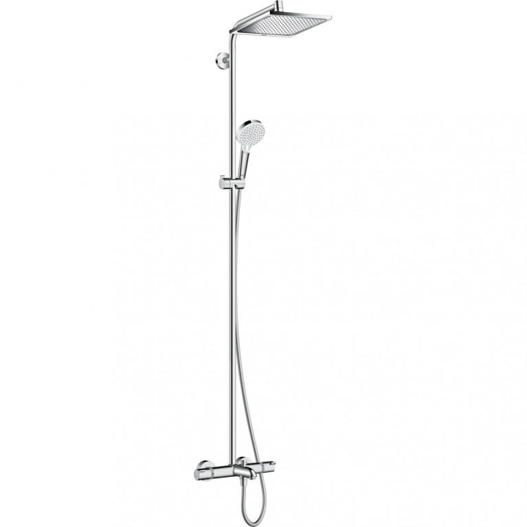 Купить Crometta E 240 1jet Showerpipe Душевая система для ванны у официального дилера HANSGROHE в Украине