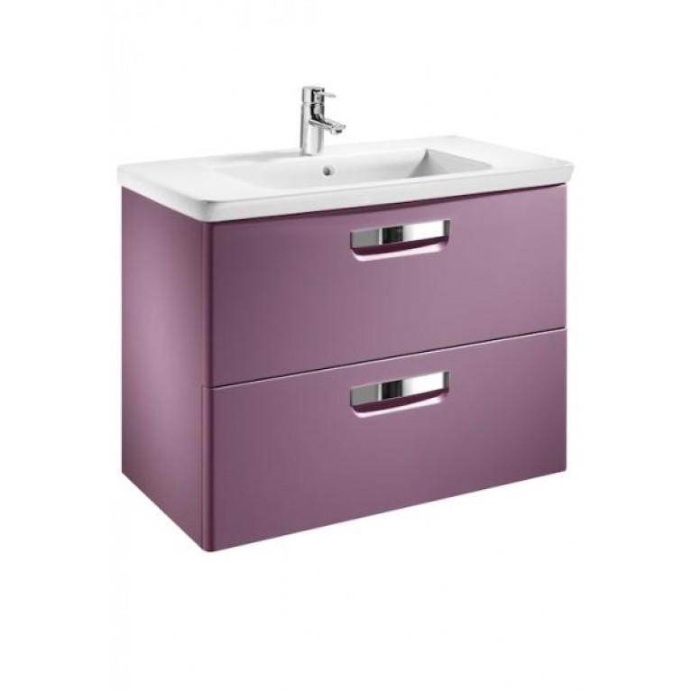 GAP тумба 100*44*64,5см, с умывальником, 2 выдв.ящика, цвет фиолетовый (виноград), фото 1