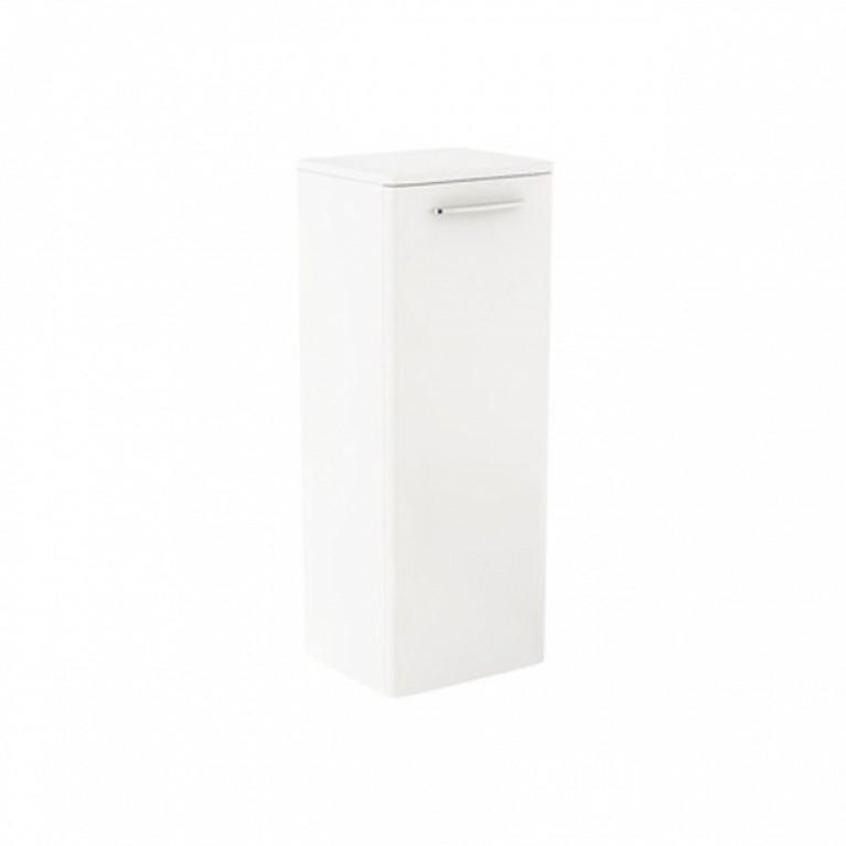 NOVA PRO шкафчик боковой белый глянец (пол)