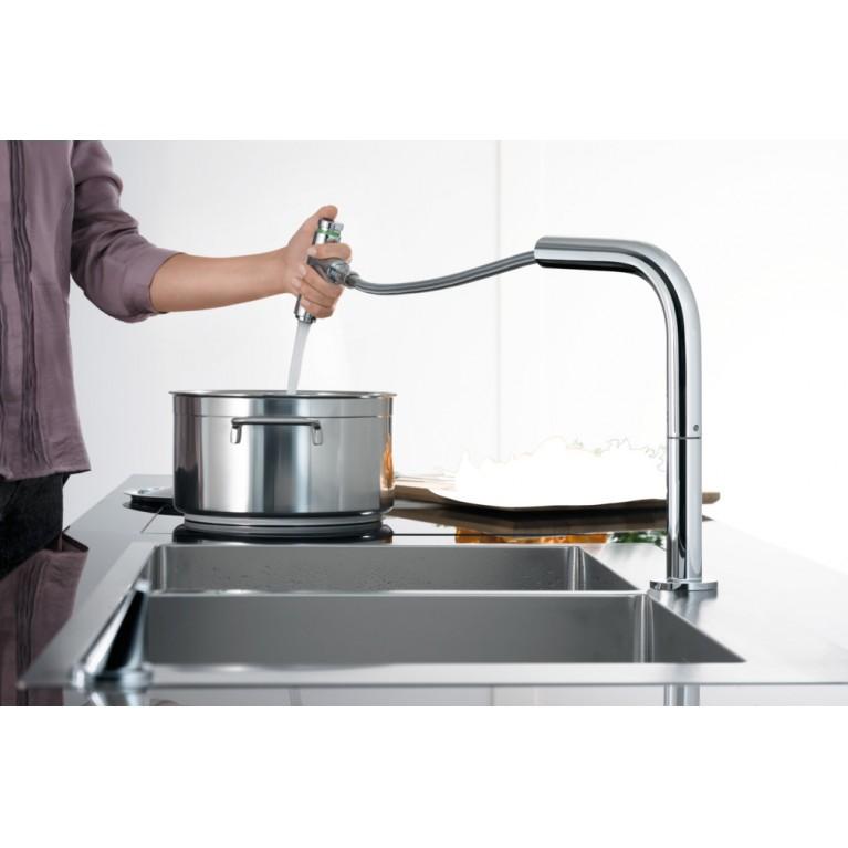 C71-F660-08 Мойка для кухни со смесителем, однорычажным 43202000, фото 4