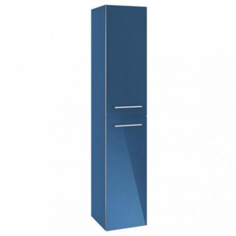 AVENTO шкаф-пенал 35*176*37см, подвесной, цвет Crystal Blue, фото 1