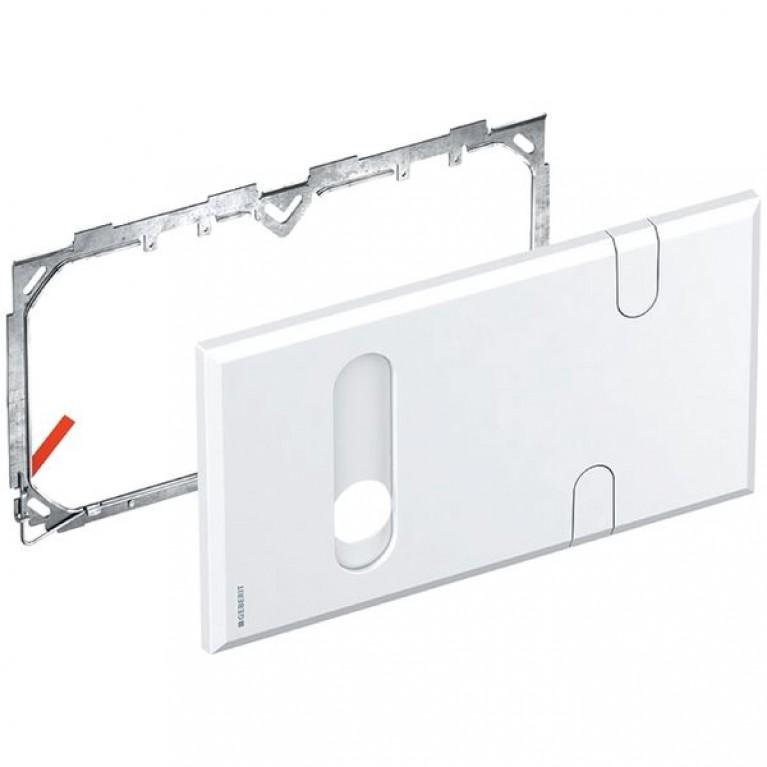 Крышка Geberit для скрытого сифона и функционального блока смесителей, фото 1