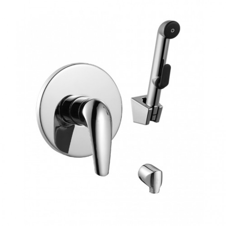 KRINICE набор (смеситель скрытого монтажа с гигиеническим душем)