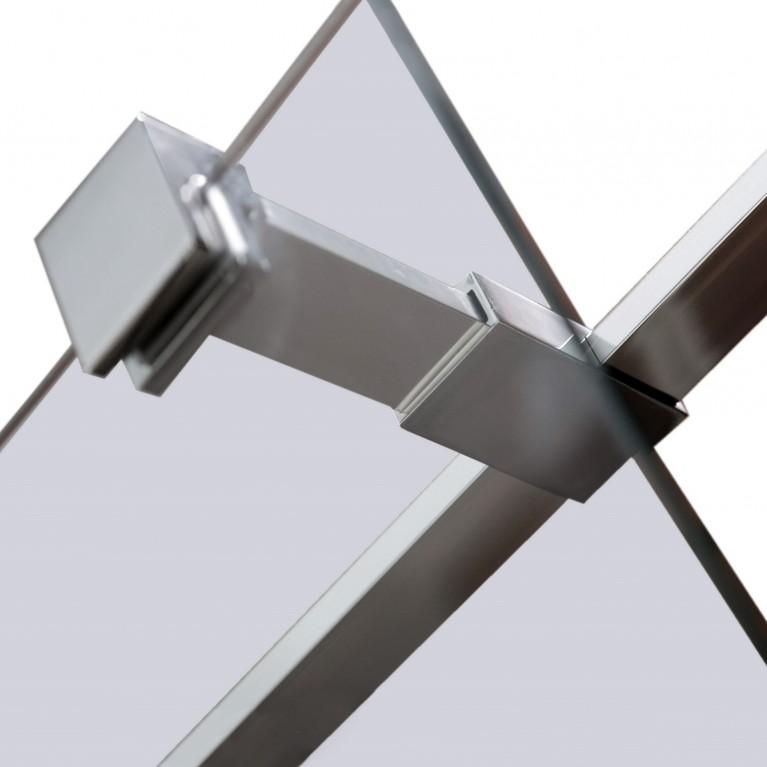 Держатель стекла (Е) с креплениями длиной 100мм