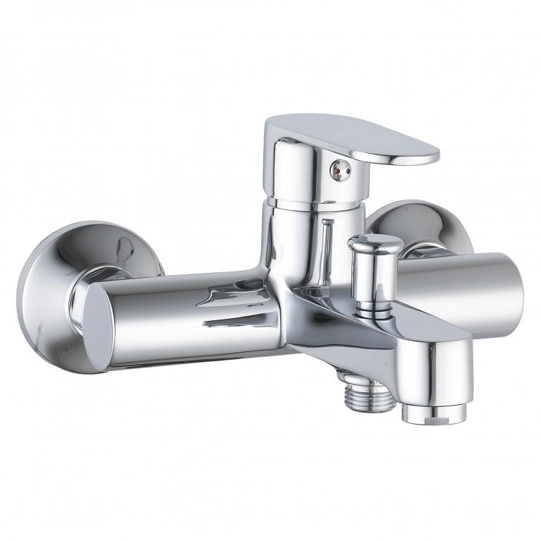 LESNA смеситель для ванны, хром, 35 мм
