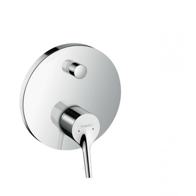 Talis S Смеситель для ванны, однорычажный, СМ, со встроенной защитной комбинацией, хром