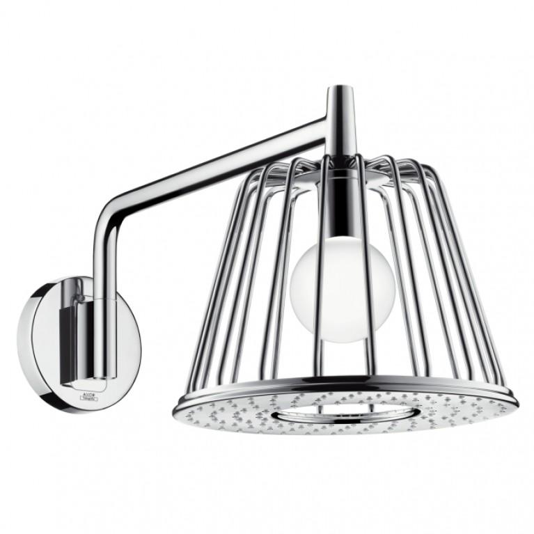 Axor Lamp Shower Душ верхний с лампой (шлифованный никель)