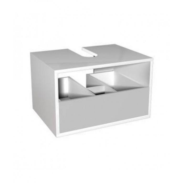 Купить DOMINO корпус к шкафчику универсальному с выдвижным ящиком 60*37*48,5 см белый глянец (пол.) у официального дилера KOLO Польша в Украине