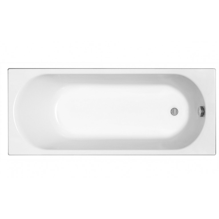 OPAL PLUS ванна прямоугольная 160х70 см, без ножек