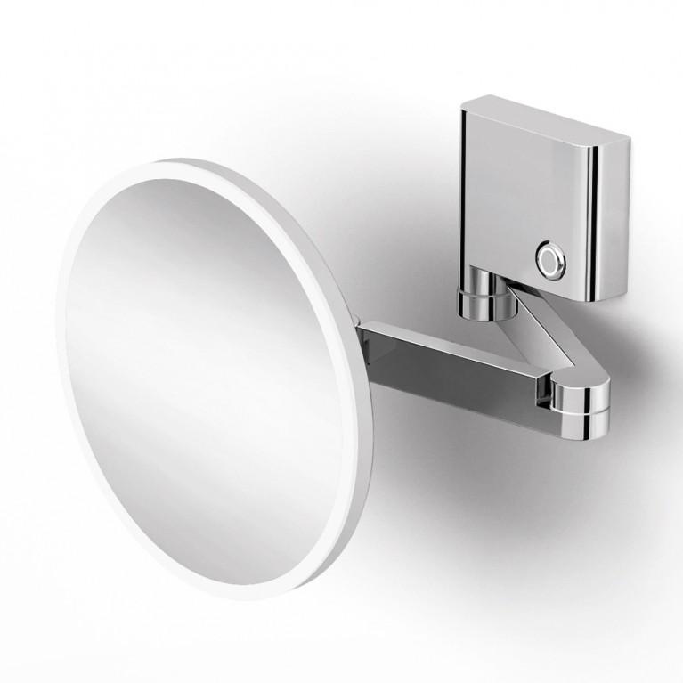 FIESTA зеркало, крепление к стене, LED подсветка, 3х