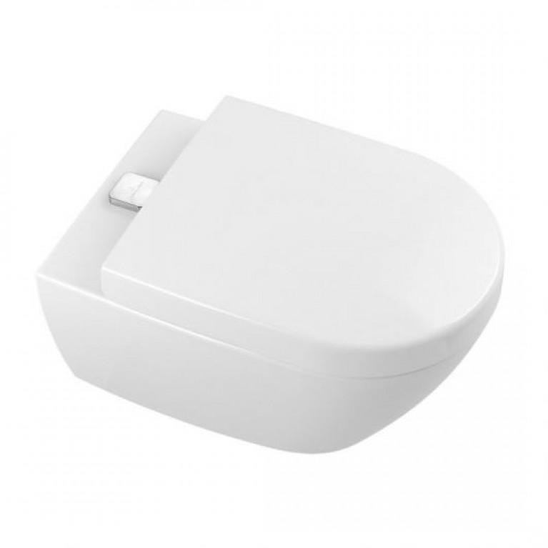 SUBWAY 2.0 ViFresh унитаз 37*56см, DirectFlush, подвесной, гориз. выпуск, цвет белый