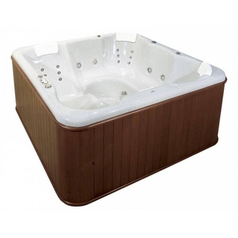 KATALINA SPA бассейн  193х193 + деревянная сосновая панель, белый