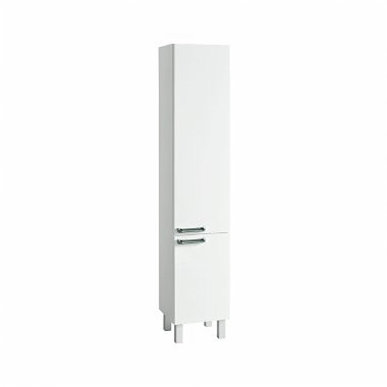 FREJA шкафчик боковой высокий, белый глянец (укр)