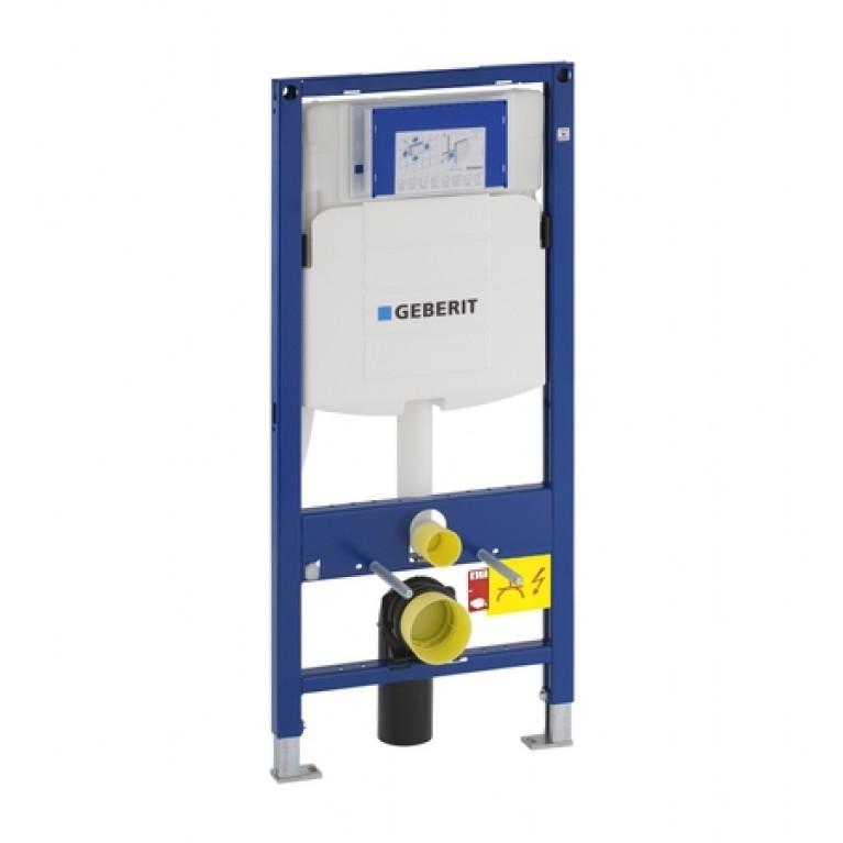 Система инсталляции подвесного унитаза GEBERIT Duofix H112 со встроенным бачком