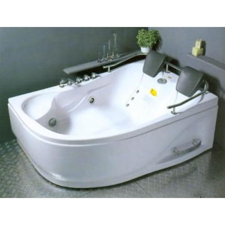 Ванна угловая правая 1800*1240*660 с гидро и аэромассажем + TV