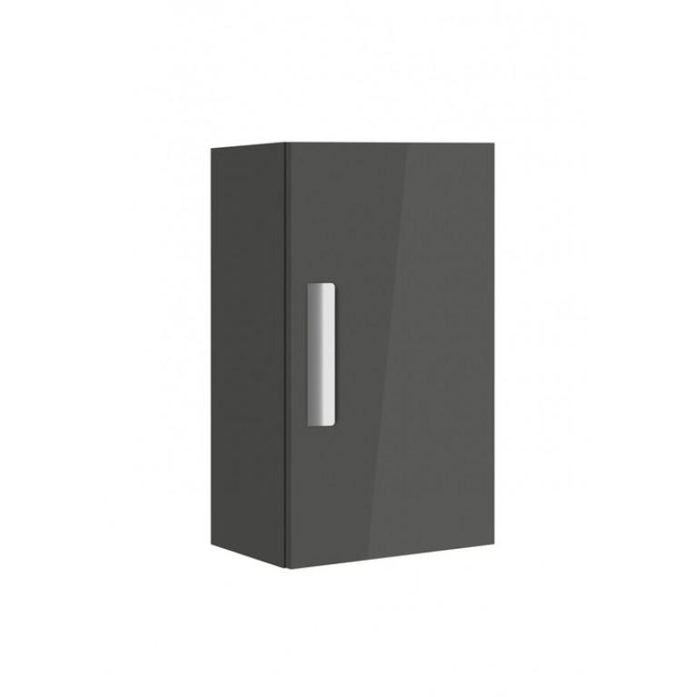 DEBBA тумба 59,6*34,6*25см, подвесная, с 1й дверцей, серый антрацит