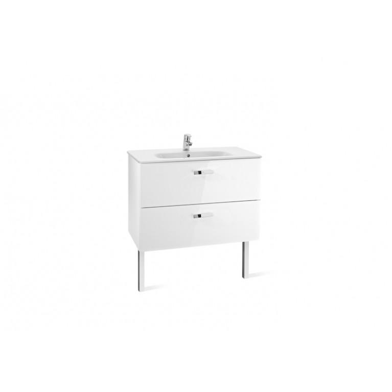 VICTORIA шкафчик с умывальником 100см, белый