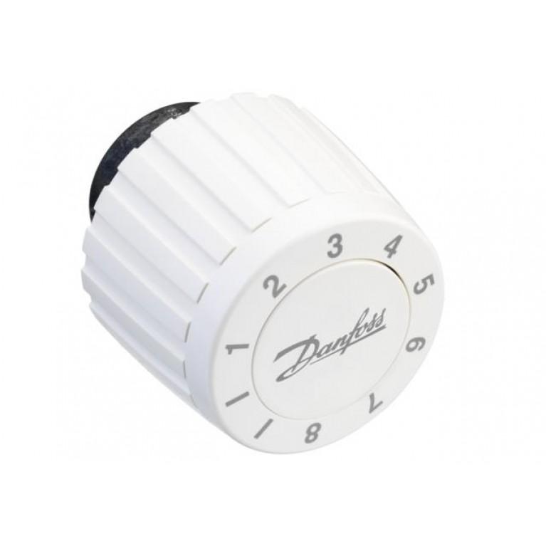 Danfoss Термоголовка FJVR регулировка 10-80 °С (белая) 003L1070, фото 2