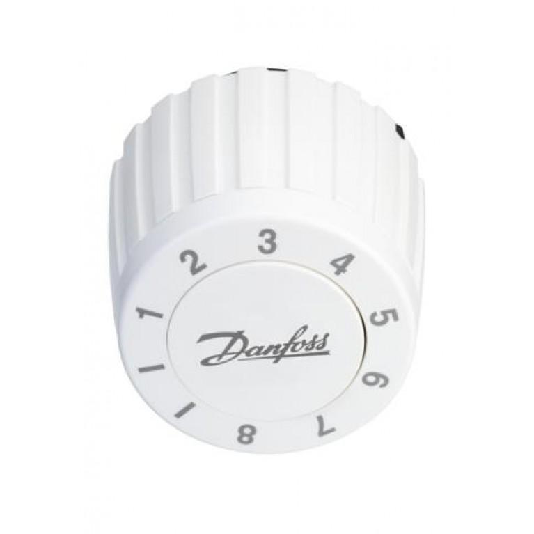 Danfoss Термоголовка FJVR регулировка 10-80 °С (белая)