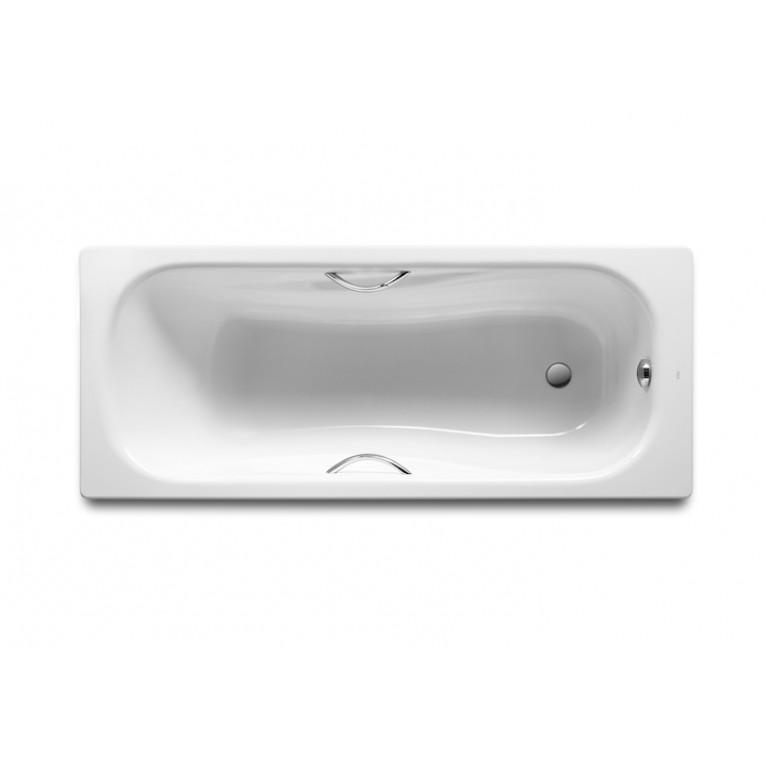 Купить PRINCESS ванна 150*75см прямоугольная, с ручками, с ножками у официального дилера Roca в Украине
