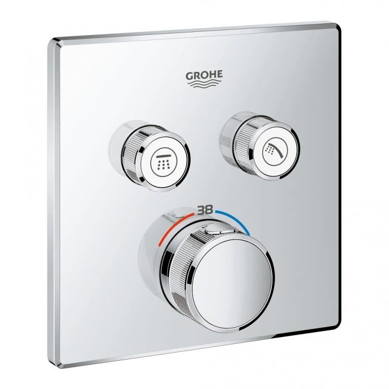 Grohtherm SmartControl Термостат для душа, внешняя часть, на 2 потребителя