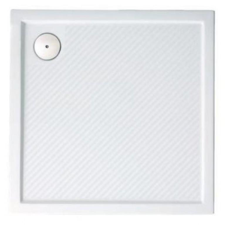 PURANO поддон квадратный, 90*90 см, белый