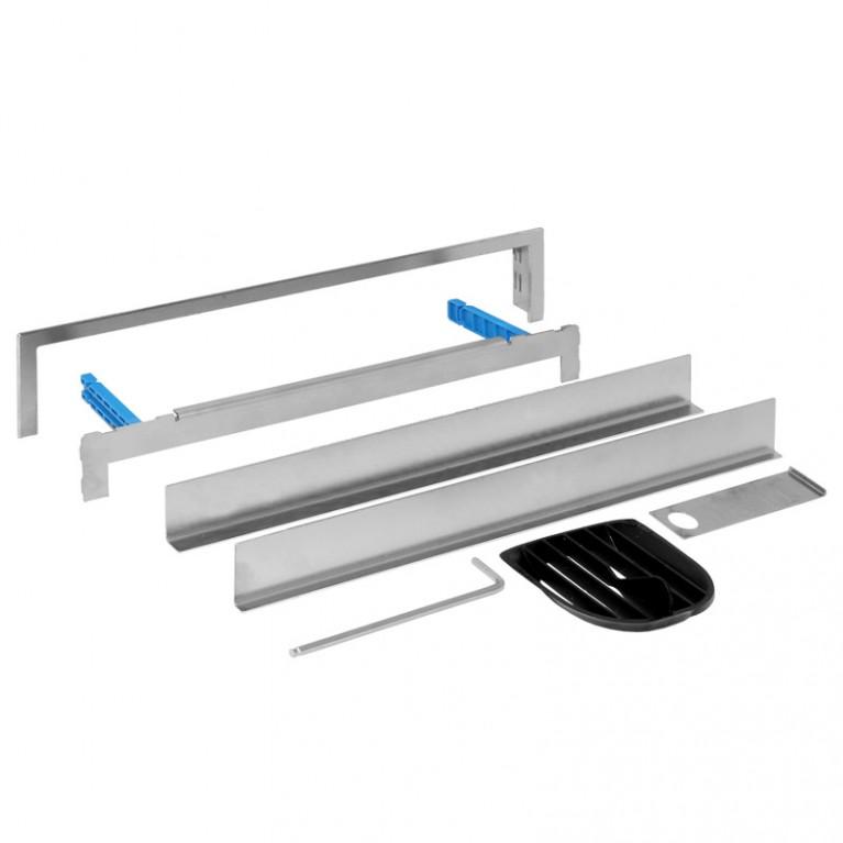 Geberit Декоративная накладка для душевого элемента, комплект под плитку с рамкой