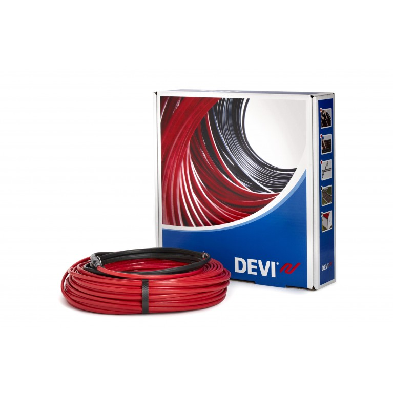 Купить Кабель нагревательный DEVI Flex 18Т 2х жильный 15кв.м 2135W 118м 230V у официального дилера DEVI в Украине