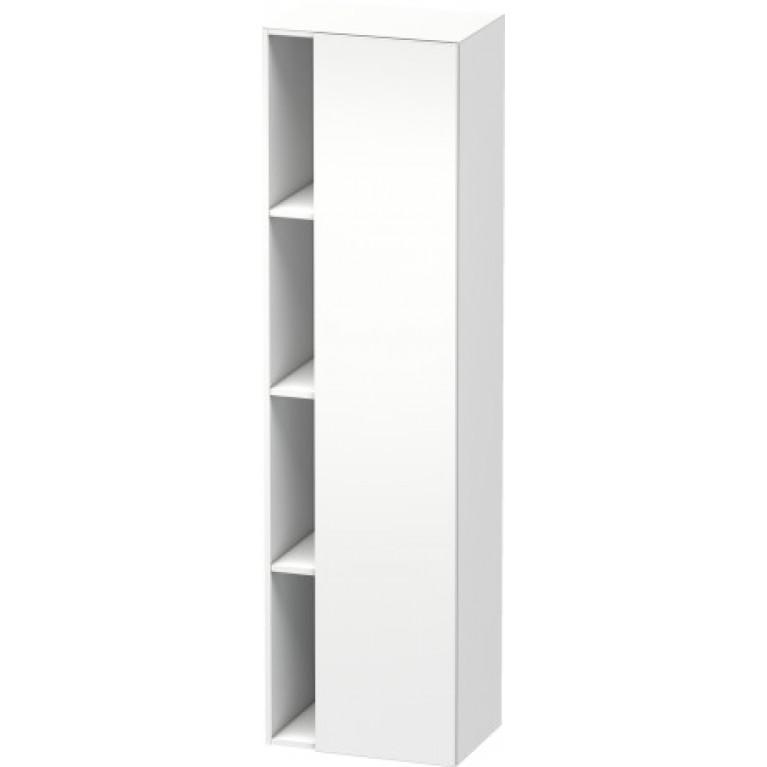 DURASTYLE высокий шкаф 50*36см, петли дверцы справа, цвет белый мат