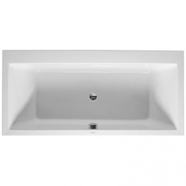 VERO ванна 190*90*46см, встраиваемая версия или версия с панелями, с двумя наклонами для спины