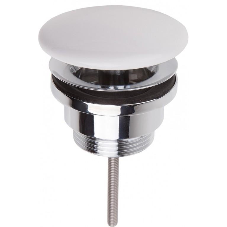 VILLEROY незапираемый донный клапан с решеткой, цвет Star White CeramicPlus