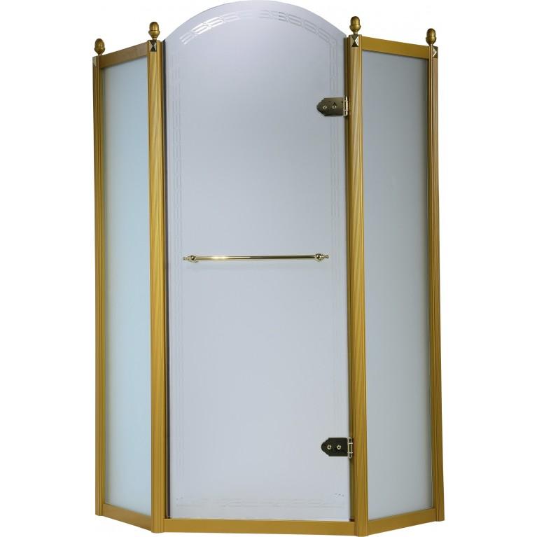 GRAND TENERIFE Gold Кабина пятиугольная с распашной дверью, фото 1