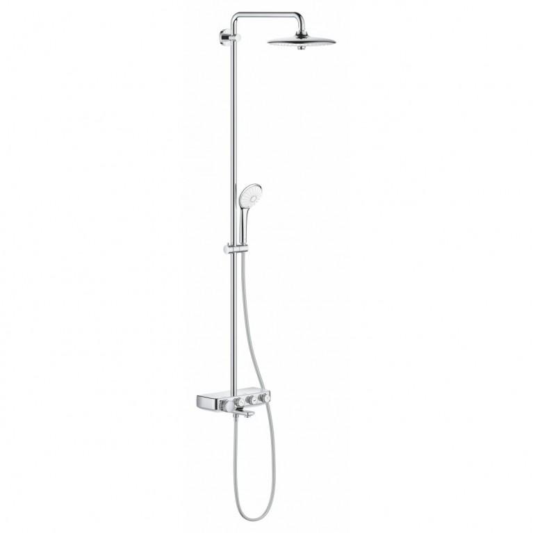 Euphoria SmartControl System 260 Mono Душевая система настенного монтажа с термостатом для ванны