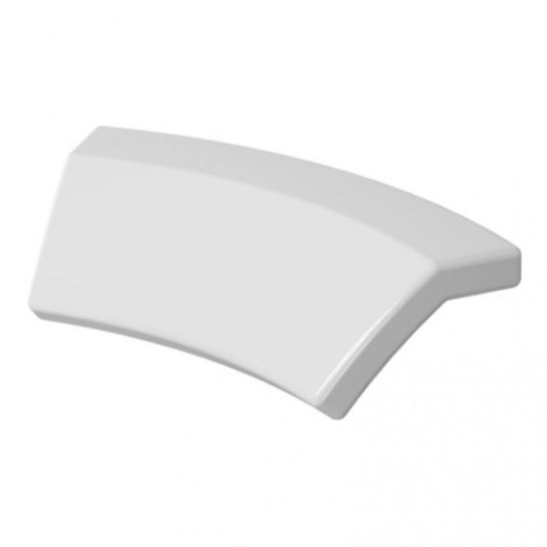 DARLING NEW подголовник для ванны, с изгибом, цвет белый
