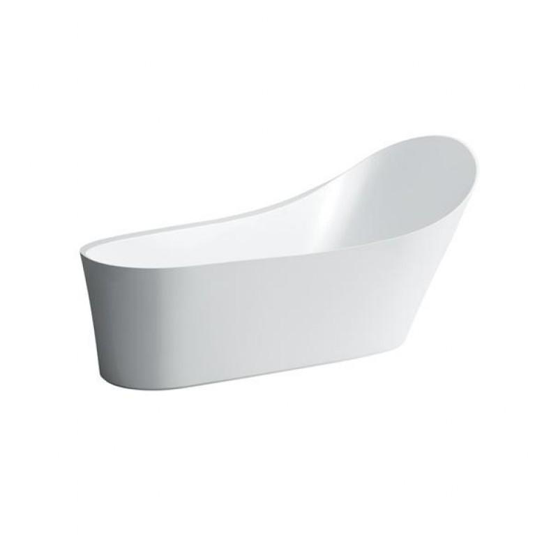 PALOMBA ванна 1835*960*750*540*900мм, отдельностоящая, Solid Surface/исkyсственный камень, цвет белый